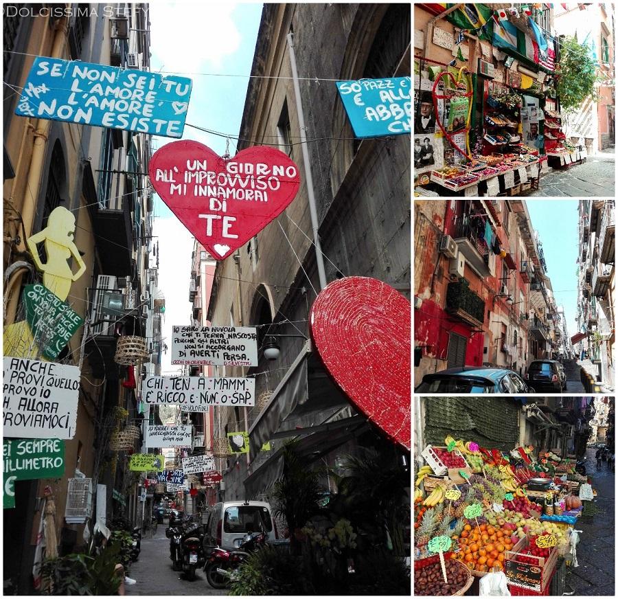 Viaggio a Napoli - Quartieri Spagnoli