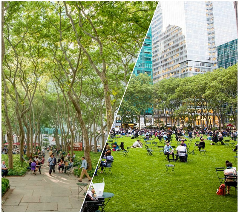 parchi di new york bryant park